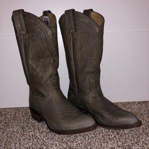 Frye Women's Billy Leather Boots - Smoke Gray